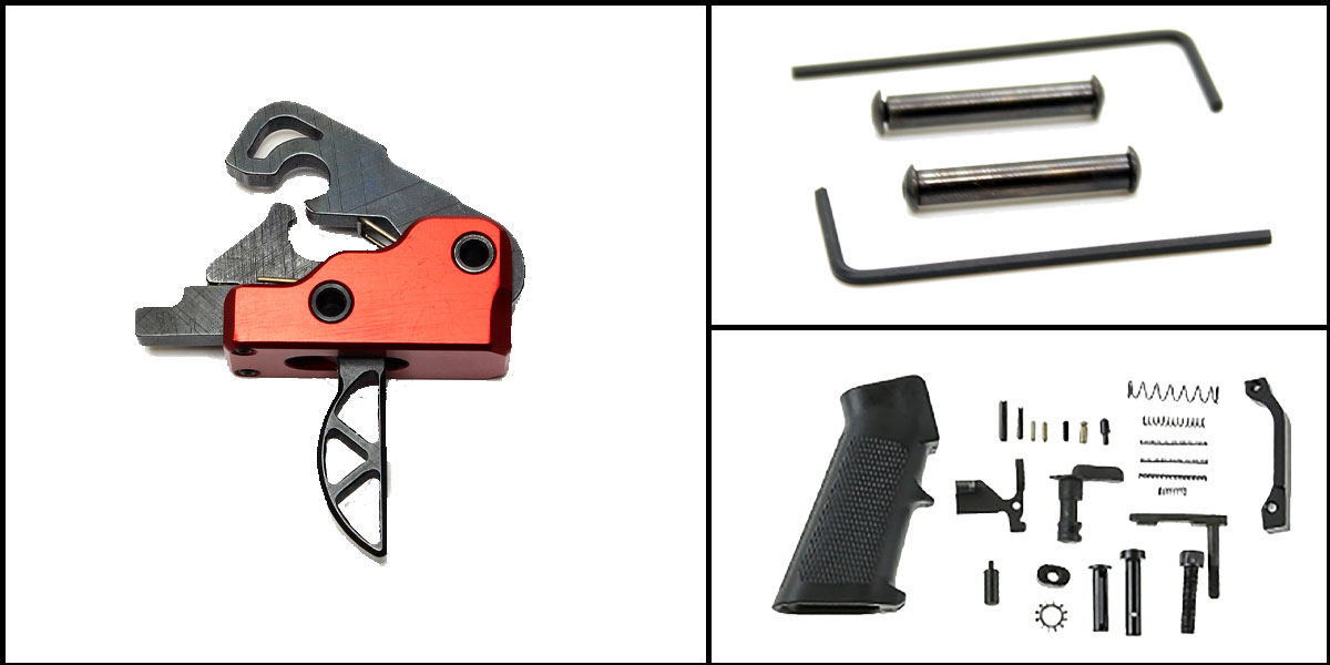 Omega Deals AR-15 Trigger Upgrade Kit Including Davidson Defense Sierra