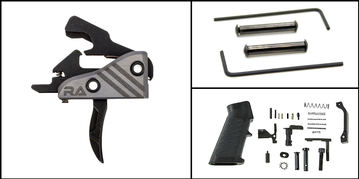 Omega Deals AR-15 Trigger Upgrade Kit Including RISE Armament Blitz Elite Performance Trigger +
