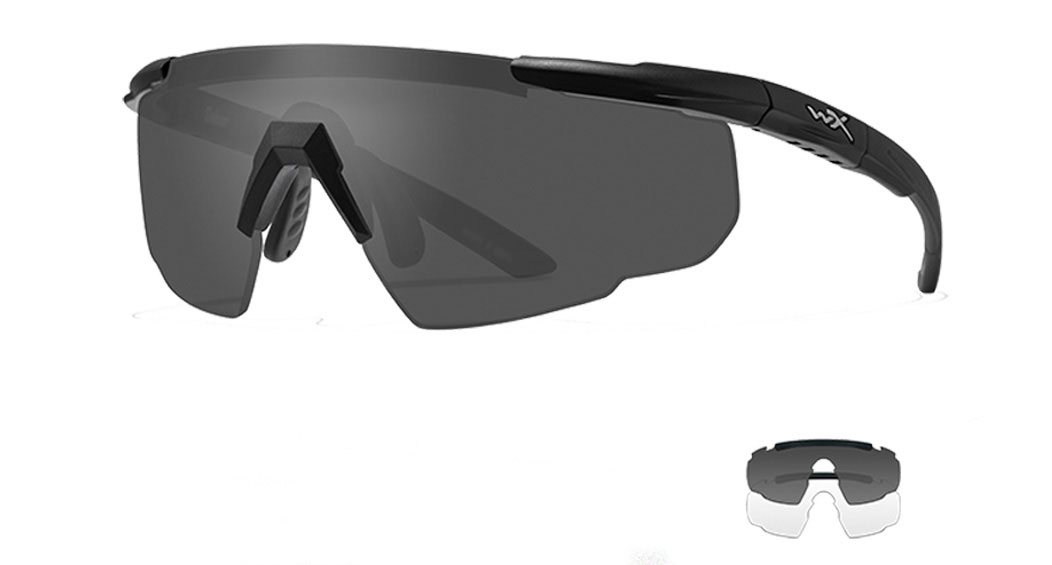 Wiley X Saber Advanced Sunglasses 2-Lens Package
