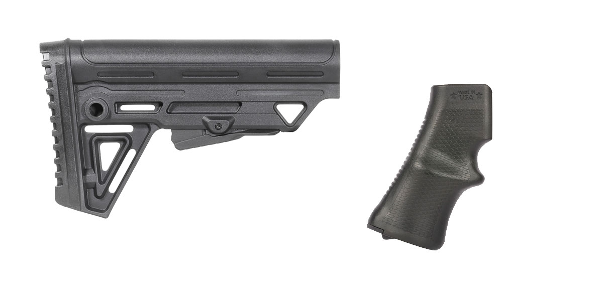 Omega Deals Stock and Pistol Grip Furniture Set: Featuring Trinity Force + A*B Arms