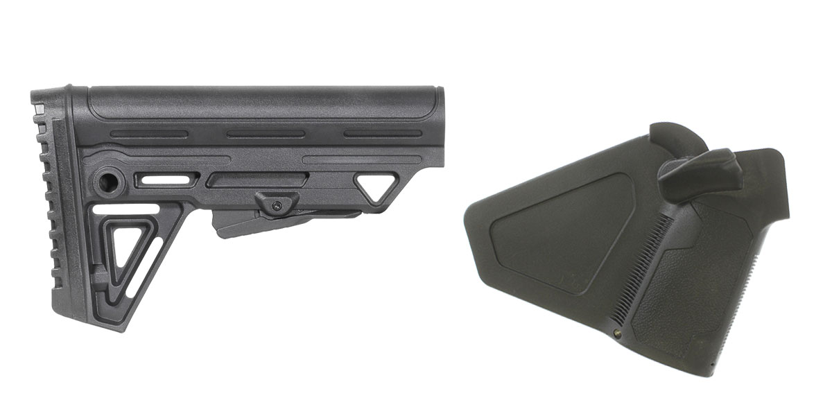 Omega Deals Stock and Pistol Grip Furniture Set: Featuring Trinity Force + NcStar