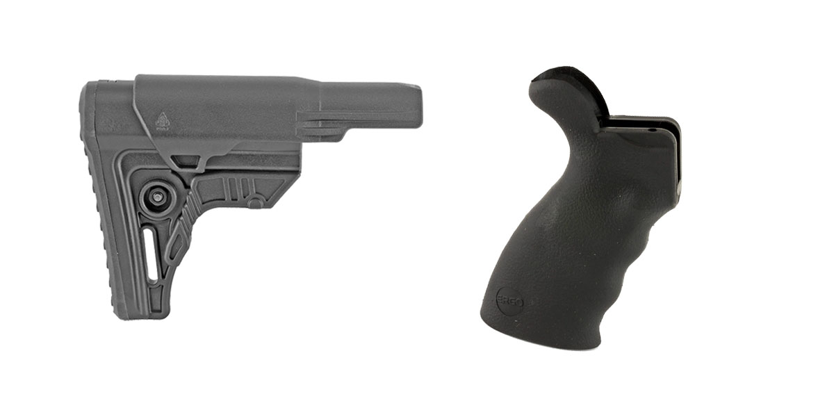 Omega Deals Stock and Pistol Grip Furniture Set: Featuring Leapers + ERGO