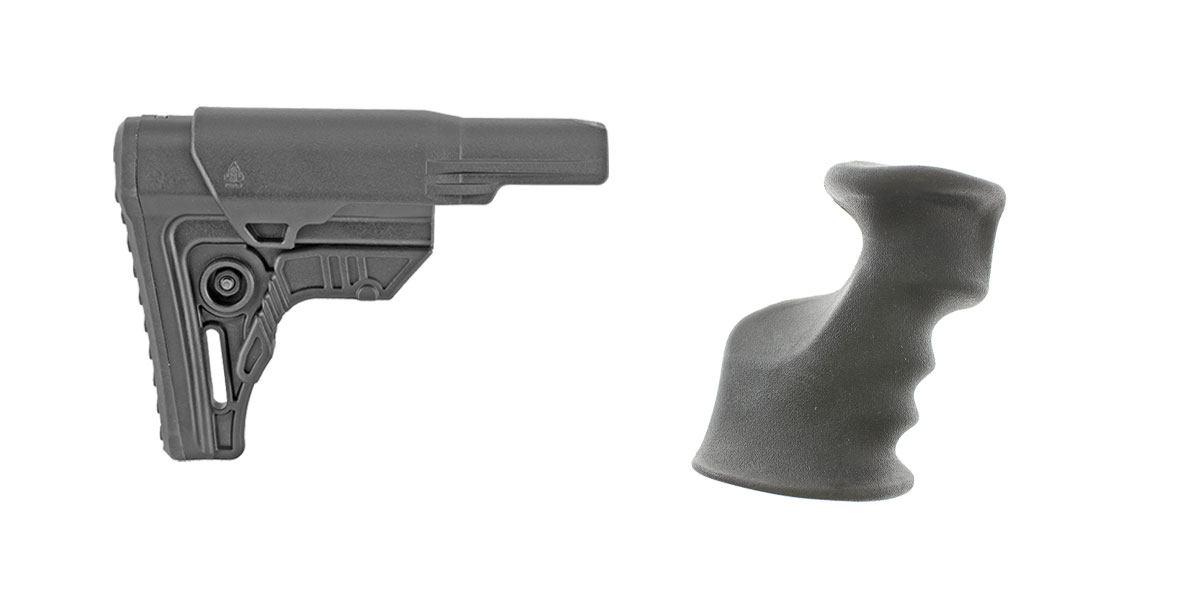 Omega Deals Stock and Pistol Grip Furniture Set: Featuring Leapers + JE Machine