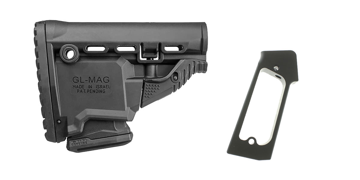 Omega Deals Stock and Pistol Grip Furniture Set: Featuring FAB Defense + JE Machine