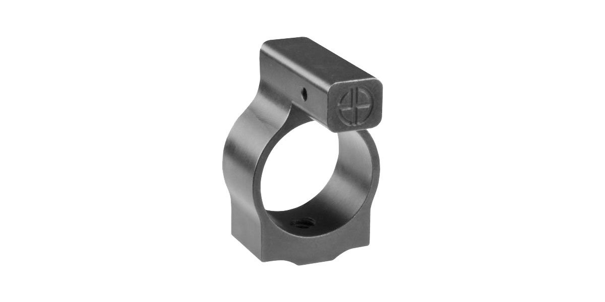 Lakota Ops AR-15 .750 Micro Gas Block, High Carbon Steel - Melonite Finish