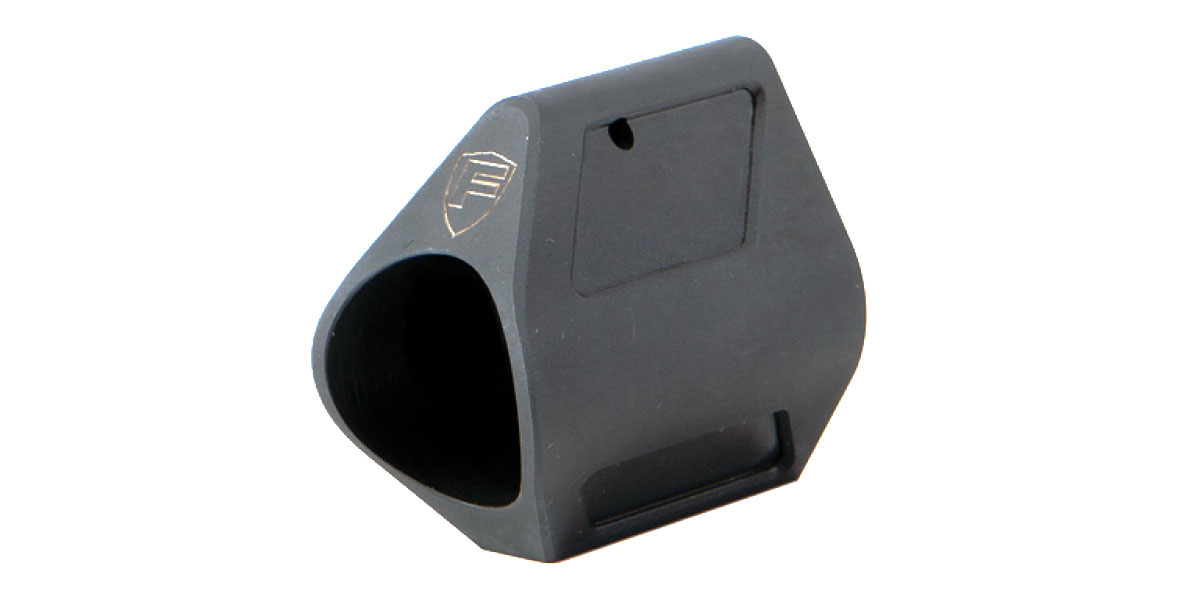 Fortis .750 Low Profile Gas Block - Black