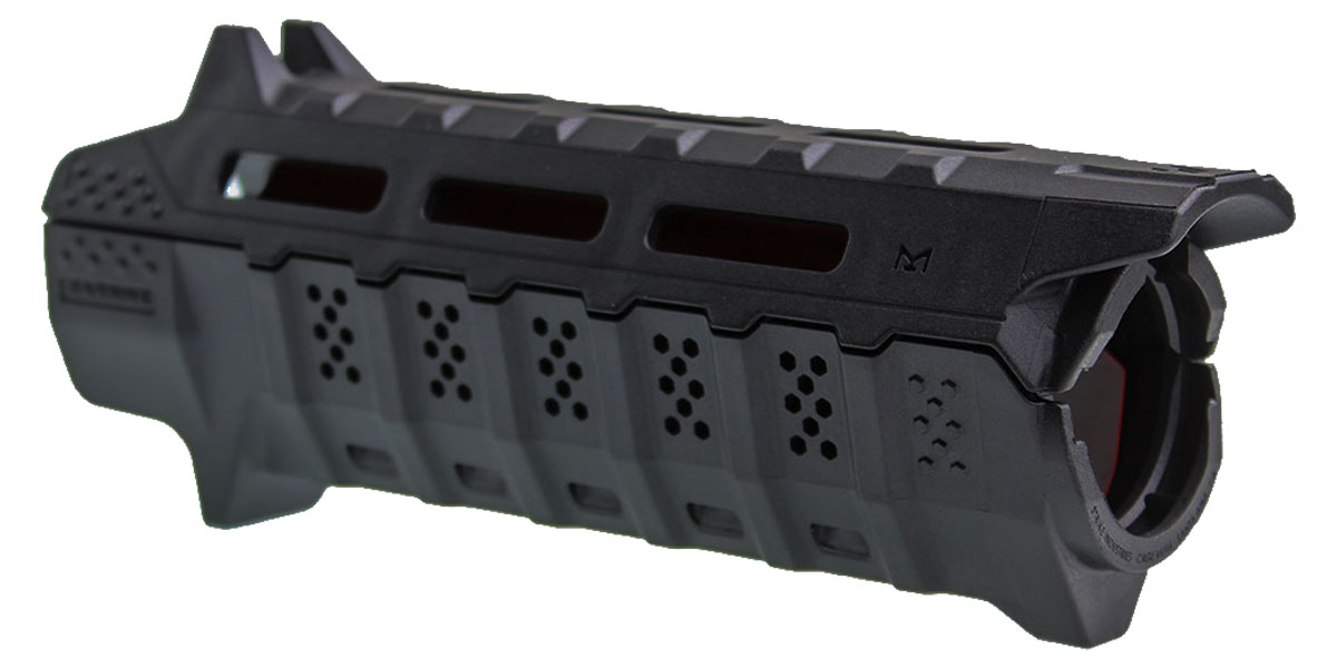 Strike Industries Drop-in Handguard Carbine Length - Red Heat Shield