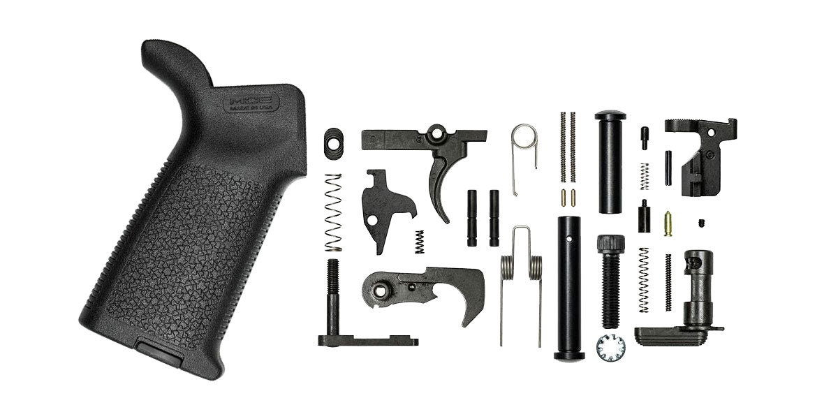 Aero Precision M5 Lower Parts Kit w/ Magpul MOE - Black