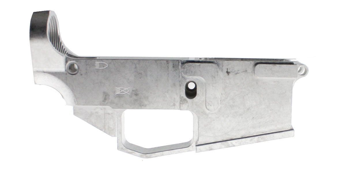 Mercury Precision 'Carme' Billet AR-15 80% Aluminum Lower Receiver - Made In The USA