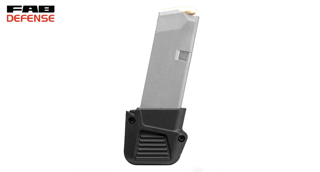 FAB Defense Glock 43 Compatible 4 Rd Magazine Extension
