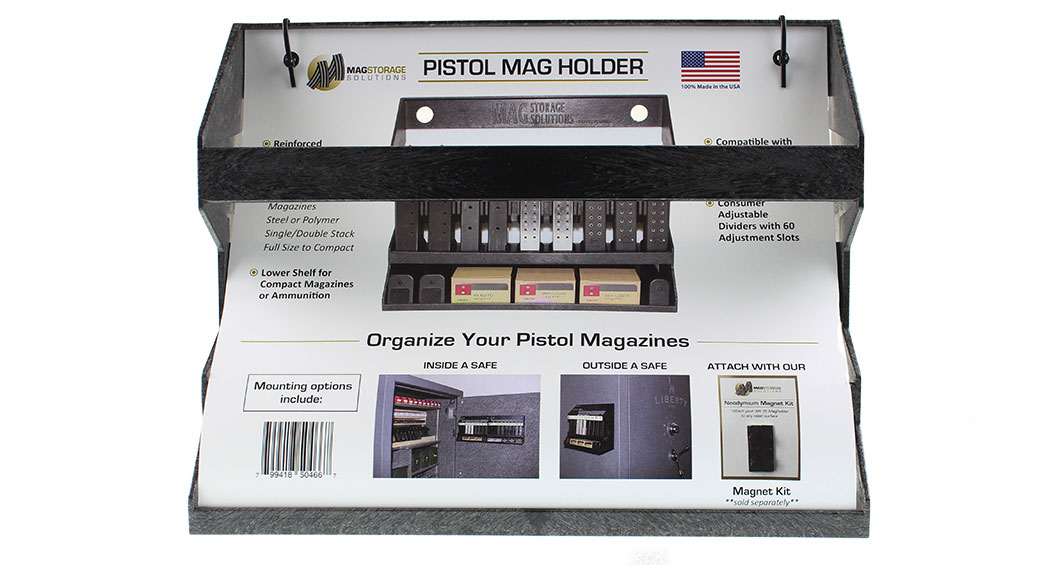 MagStorage Solutions Pistol Magazine And Ammo Holder