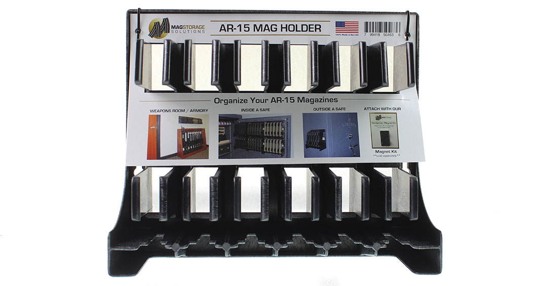 MagStorage Solutions AR-15 Magazine Holder - Stores 6 magazines