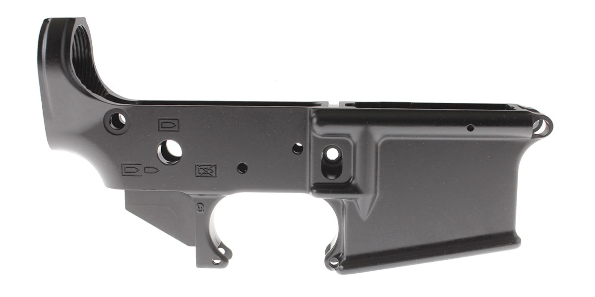 Spirit of '76 'We The People' Musket-15 AR-15 Serialized Stripped Lower Receiver - Made in The USA