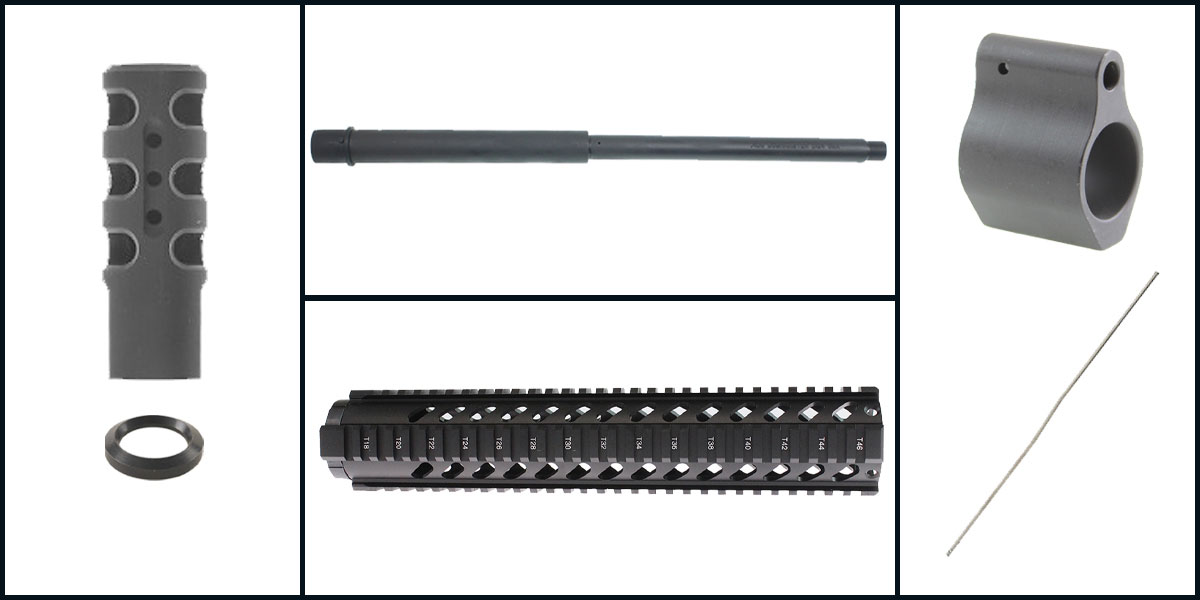 Omega Deals AR-15 Upper Starter Kit Featuring: 16