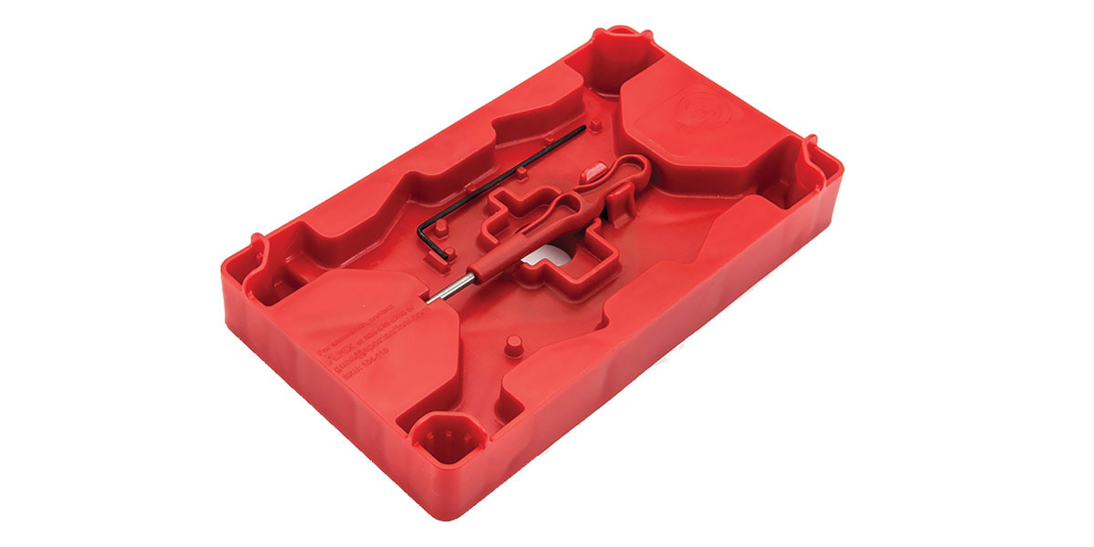 Apex Tactical Specialties Armorer's Tray & Pin Punch - Red
