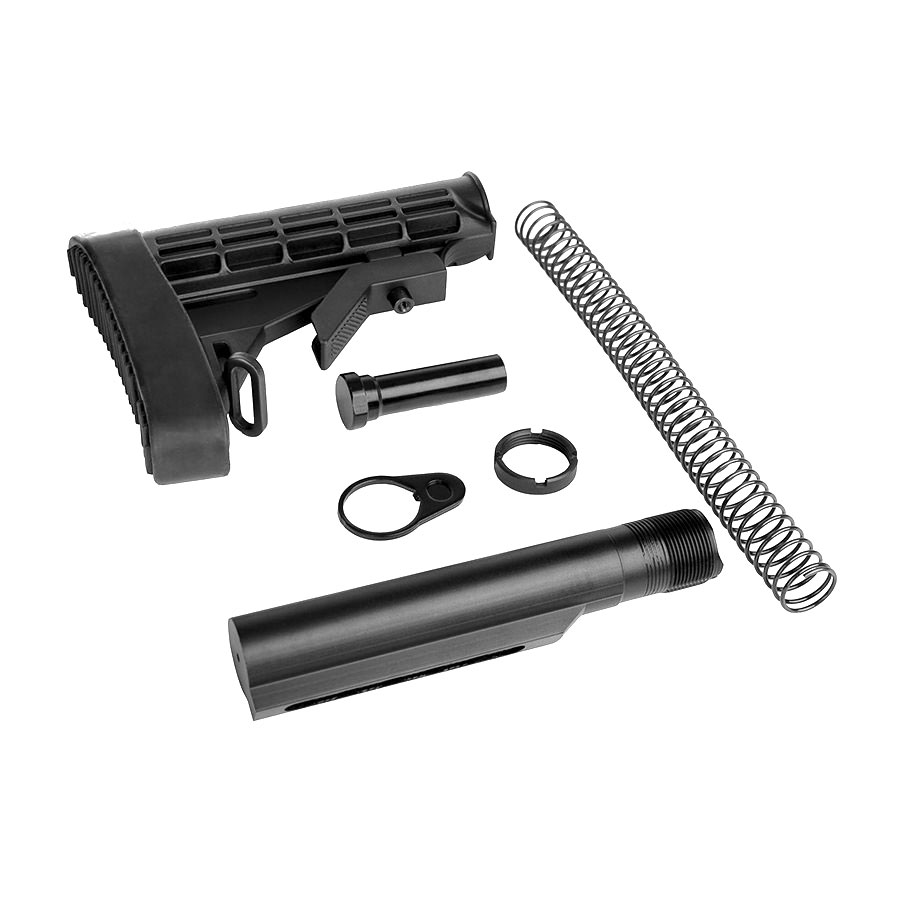 Lakota Ops AR-15 L-E Mil-Spec Stock + Buffer Tube Kit