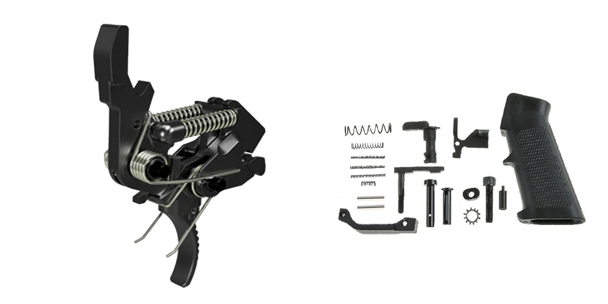 Omega Deals AR-15 Trigger Upgrade Kit Including the Hiperfire