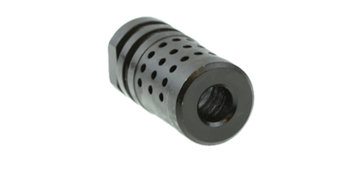 1/2x28 .223 Or 5/8x24 .308 or .450 .458 5/8x32  KAK Compensator **Select Your Size**