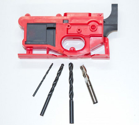 Polymer80 Lower Receiver Poly 80 Phoenix 2 80% AR-15 Lower with Jig and Bits