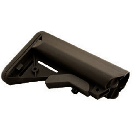 JE Designs Sopmod Black Buttstock Mil-Spec Sized Made in USA