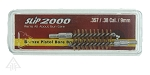 Slip 2000 2 Pack Bronze Bore Brush, .357/.38 Caliber, 9mm Pistol