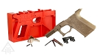 Poly 80 PF940C 80% Compact Pistol Frame Kit - FDE
