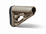 Adaptive Tactical AR-15 EX Performance Adjustable Stock - FDE