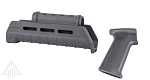Delta Deals AK47/74 Magpul Grey Grip + Magpul Grey Handguard