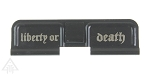 United Defense AR-15 Ejection Port Cover- Liberty or Death  - U.S. Made