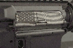 United Defense AR-15 Ejection Port Cover--American Flag U.S. Made - *Pick Your Color*