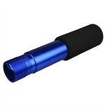 FSI Heavy Duty Pistol Buffer Tube with Foam Pad - Blue