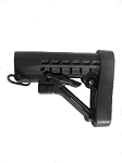 Lakota Ops AR-15 Mil-Spec Stock With QD Sling Swivel & Recoil Pad