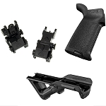 Delta Deals AR15 Magpul Grip Enhancement, Angled Grip & Sights