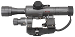 Genuine Dragunov Scope 4x24  SVD AK47 Rifle Scope (New 2016 MFG)