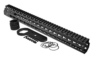 Strike Industries AR Mega Fins Key-Mod Handguard Rail G2 15