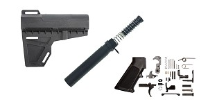 Omega Deals KAK Shockwave AR-15 Finish Your Lower Pistol Kit