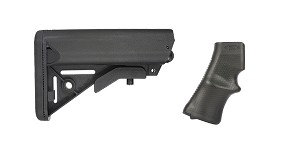 Omega Deals Stock and Pistol Grip Furniture Set: Featuring Lakota Ops + A*B Arms