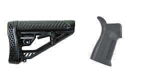 Omega Deals Stock and Pistol Grip Furniture Set: Featuring Adaptive Tactical + Trinity Force
