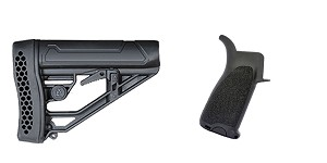 Omega Deals Stock and Pistol Grip Furniture Set: Featuring Adaptive Tactical + BCM