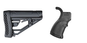 Omega Deals Stock and Pistol Grip Furniture Set: Featuring Adaptive Tactical + FAB Defense