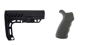 Omega Deals Stock and Pistol Grip Furniture Set: Featuring Lakota Ops + Omega Mfg.