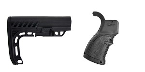 Omega Deals Stock and Pistol Grip Furniture Set: Featuring Lakota Ops + FAB Defense