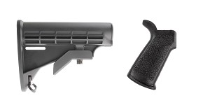 Omega Deals Stock and Pistol Grip Furniture Set: Featuring Lakota Ops + Guntec
