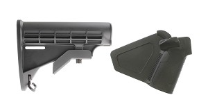 Omega Deals Stock and Pistol Grip Furniture Set: Featuring Lakota Ops + NcStar
