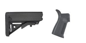Omega Deals Stock and Pistol Grip Furniture Set: Featuring JE Machine + Trinity Force