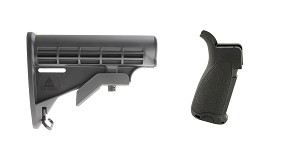 Omega Deals Stock and Pistol Grip Furniture Set: Featuring MMC Armory + Bravo Company