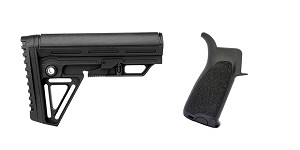 Omega Deals Stock and Pistol Grip Furniture Set: Featuring Trinity Force + BCM