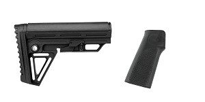 Omega Deals Stock and Pistol Grip Furniture Set: Featuring Trinity Force + Hogue