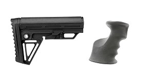 Omega Deals Stock and Pistol Grip Furniture Set: Featuring Trinity Force + JE Machine
