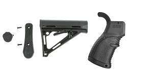 Omega Deals Stock and Pistol Grip Furniture Set: Featuring Davidson Defense + FAB Defense